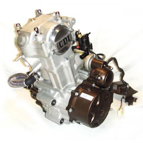 Motor Completo (água) CB 250cc (ATV), LONCIN (para peças)